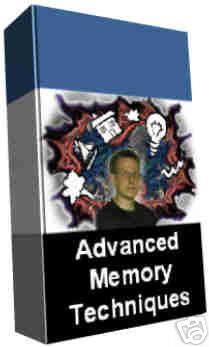 Advanced Memory/Memorization Techniques