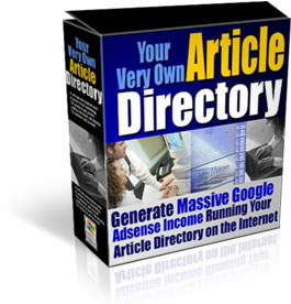 Article Site Directory Ebook + Resell Rights