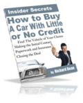 How To Buy A Car With Little Or No Credit