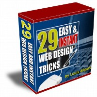 29 Easy & Instant Web Design Tricks Volume 1