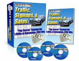 Traffic, Signups, and Sales