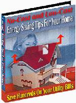 No Cost and Low Cost Home Energy Saving Tips