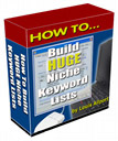 How to Build Huge Niche Keyword Lists