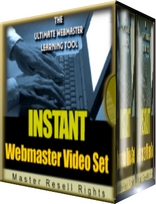 Instant Webmasters Video Set